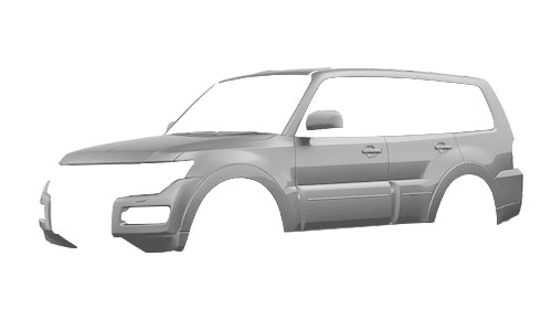 Цвета кузова Pajero Wagon